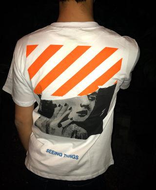 オフホワイト Off white Tシャツ 男女兼用