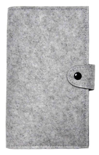 フェルト 多機能 母子手帳 パスポートケース タイトグレー(ノーブランド ) - フリマアプリ&サイトShoppies[ショッピーズ]