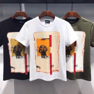 DSQUARED2Tシャツ2枚8500日元夏の必需品