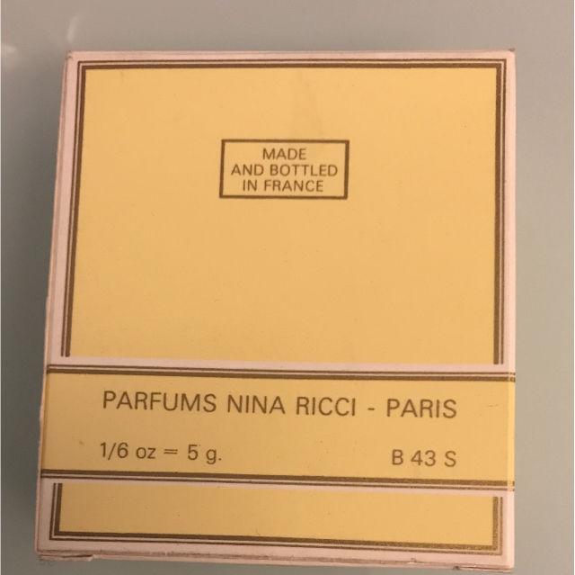 【未使用】NINA RICCIミニ香水