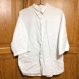 GU ビッグサイズシャツホワイト
