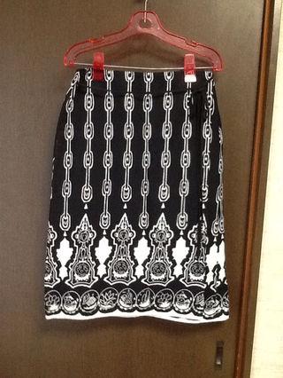 シュカ  麻混巻きスカート