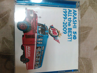 ARASHI 5×10 2枚組CDセットDisc2なし