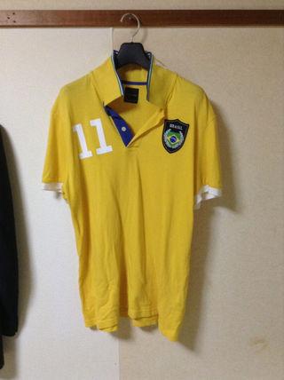 サッカー ブラジル代表【ネイマール選手】ポロシャツ