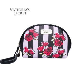 新品ヴィクトリアシークレットたっぷり収納ポーチ可愛い花柄