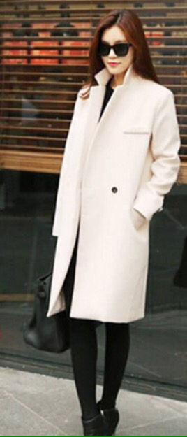 レディース コート アウター  シンプル ホワイト 白
