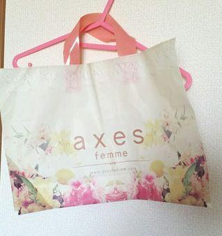 【axes】ショッパー1枚450円
