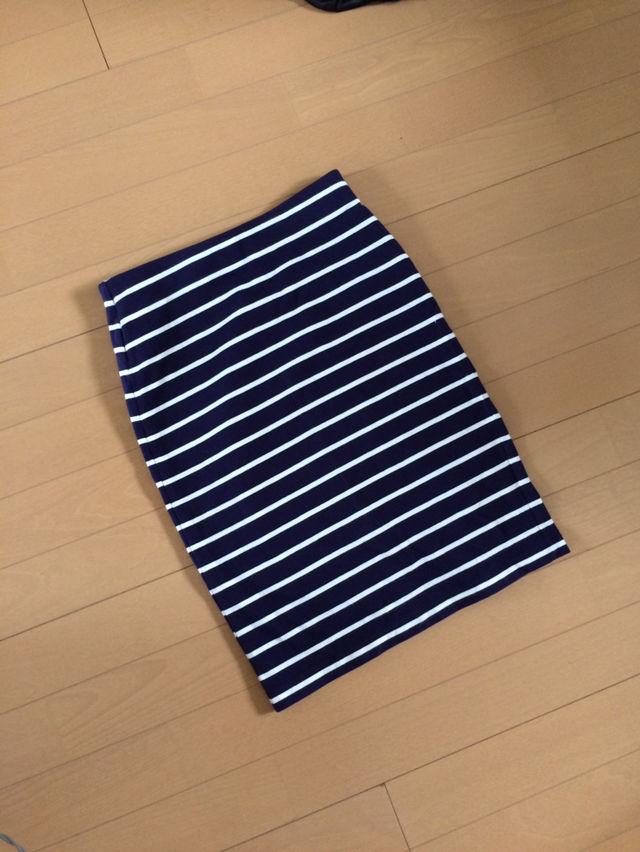【新品】重宝ボーダースカート(UNIQLO(ユニクロ) ) - フリマアプリ&サイトShoppies[ショッピーズ]