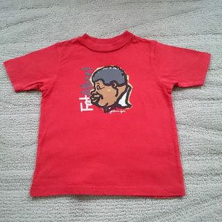 FUBU プリント 半袖 Tシャツ 100cm 4T 赤