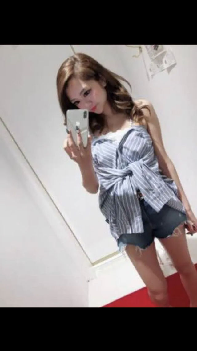 3WAYストライプシャツ(DaTuRa(ダチュラ) ) - フリマアプリ&サイトShoppies[ショッピーズ]