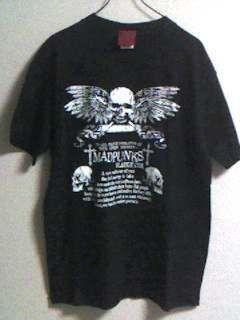MAD・シンプルTシャツ(黒)