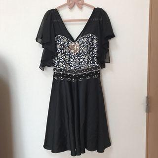 アンディ andy ドレス ブラック ビジュー