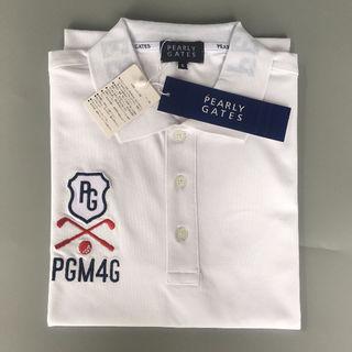 PEARLY GATES GOLF  白い 半袖ポロシャツ