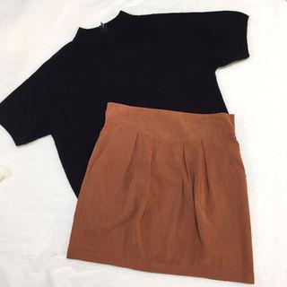mystic タックタイトスカート
