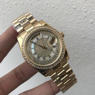 人気腕時計 ロレックス デイデイト 自動巻き