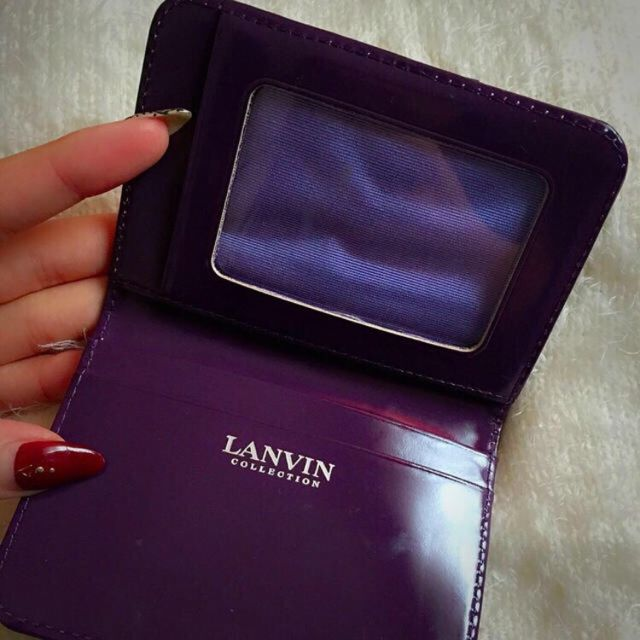 LANVINパスケース(LANVIN(ランバン) ) - フリマアプリ&サイトShoppies[ショッピーズ]