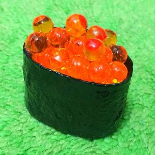 食品サンプル(マグネット)お寿司(イクラ/いくら軍艦)4