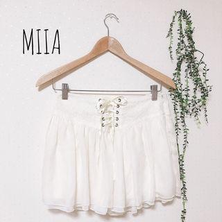 MIIA レースアップスカート