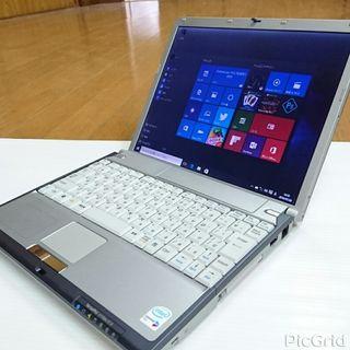 Windows10NEC軽量12.1インチノートパソコン