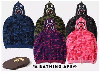 A BATHING APE 男女兼用 人気 パーカー34