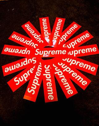 supreme シュプリーム  ステッカー 3枚セット