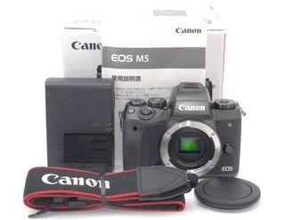 Wi-Fi・Bluetooth対応Canon M5 ボディ