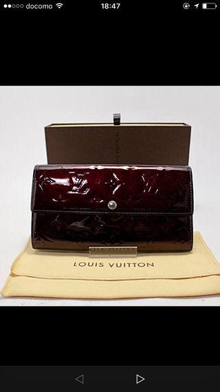 正規品(送料込み)LV ボルト・フォイユ・サラ長財布