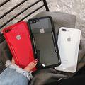 クリアーカラー スクエア 新品未使用 iPhoneケース