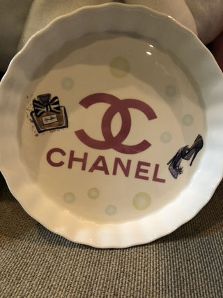 グラタン皿(シャネ)