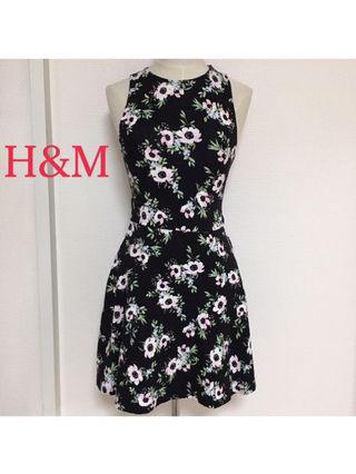 95.【H&M】ワンピース(XS)