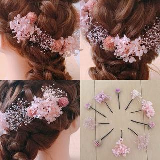 結婚式 成人式 七五三 ヘッドドレス 髪飾り