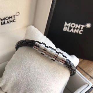 モンブラン メンズ 手作り 自由調整 リストバンド