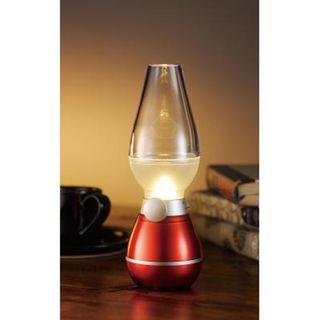 アンティークなLEDランプ 息を吹きかけ点灯・消灯