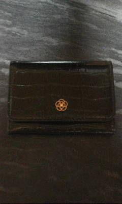 クレイサス黒コインケース兼カードケース