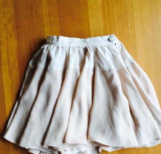 バイカラー スカート