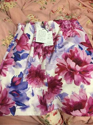 デイライルノアール花柄タイトスカート