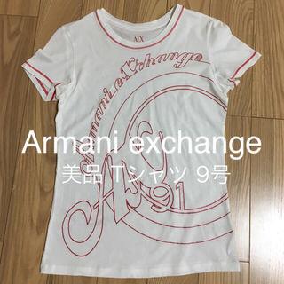 アルマーニエクスチェンジTシャツ