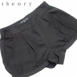 美品! theory セオリー  シルクショートパンツM69