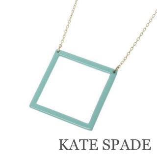 KATE SPADE【美品】スクエアネックレス
