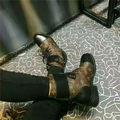 lv高級品 ブーツ人気美脚