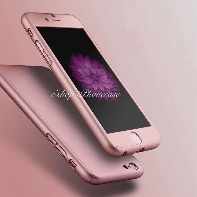 35ea748f7c iPhoneケース360度フルカバー 全面保護 ローズ - フリマアプリ&サイトShoppies[ショッピーズ]