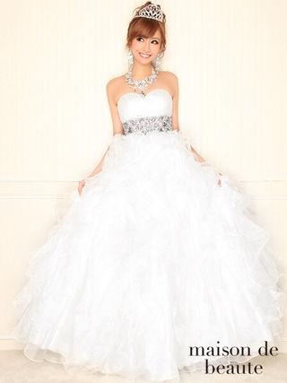 新品同様EmiriaWizオーロラジュエリーロングドレス