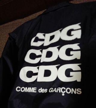COMME des GARCONS ボアコーチジャケット