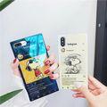 インスタ風スクエア型スヌーピーiPhoneケース