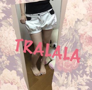 TRALALA カボチャパンツ