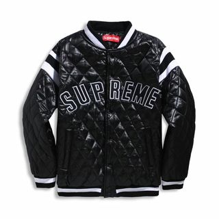 Sup 17s Quilted Satin Varsity