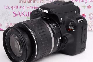 最安値☆★Canon EOS Kiss X7 レンズセット★