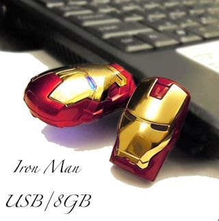 新品》 マーベル アイアンマン USBフラッシュメモリ8GB