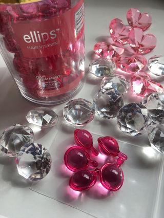 傷んだ髪へ エリップス 人気のピンク5粒