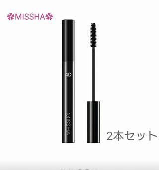 新品MISSHA4Dマスカラ/2本set